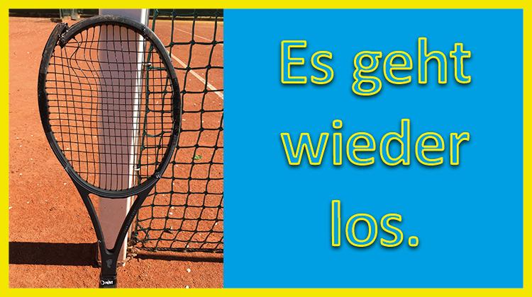 Die Tennissaison 2020 darf endlich starten.